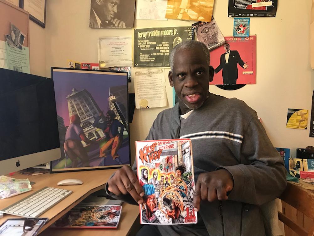 Leroy Moore of Krip Hop Nation