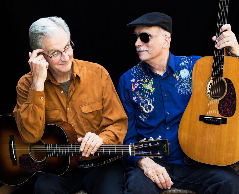 Musicians Jim Kweskin and Geoff Muldaur
