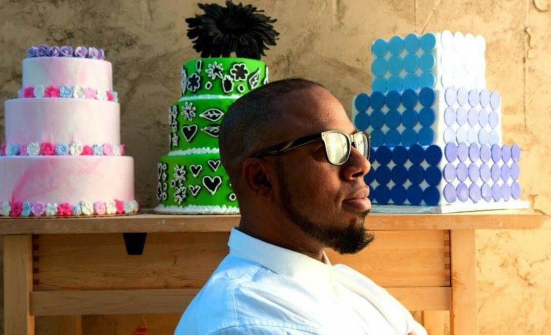 David Benton of Sugarsweet Cake + Cookie Studio.