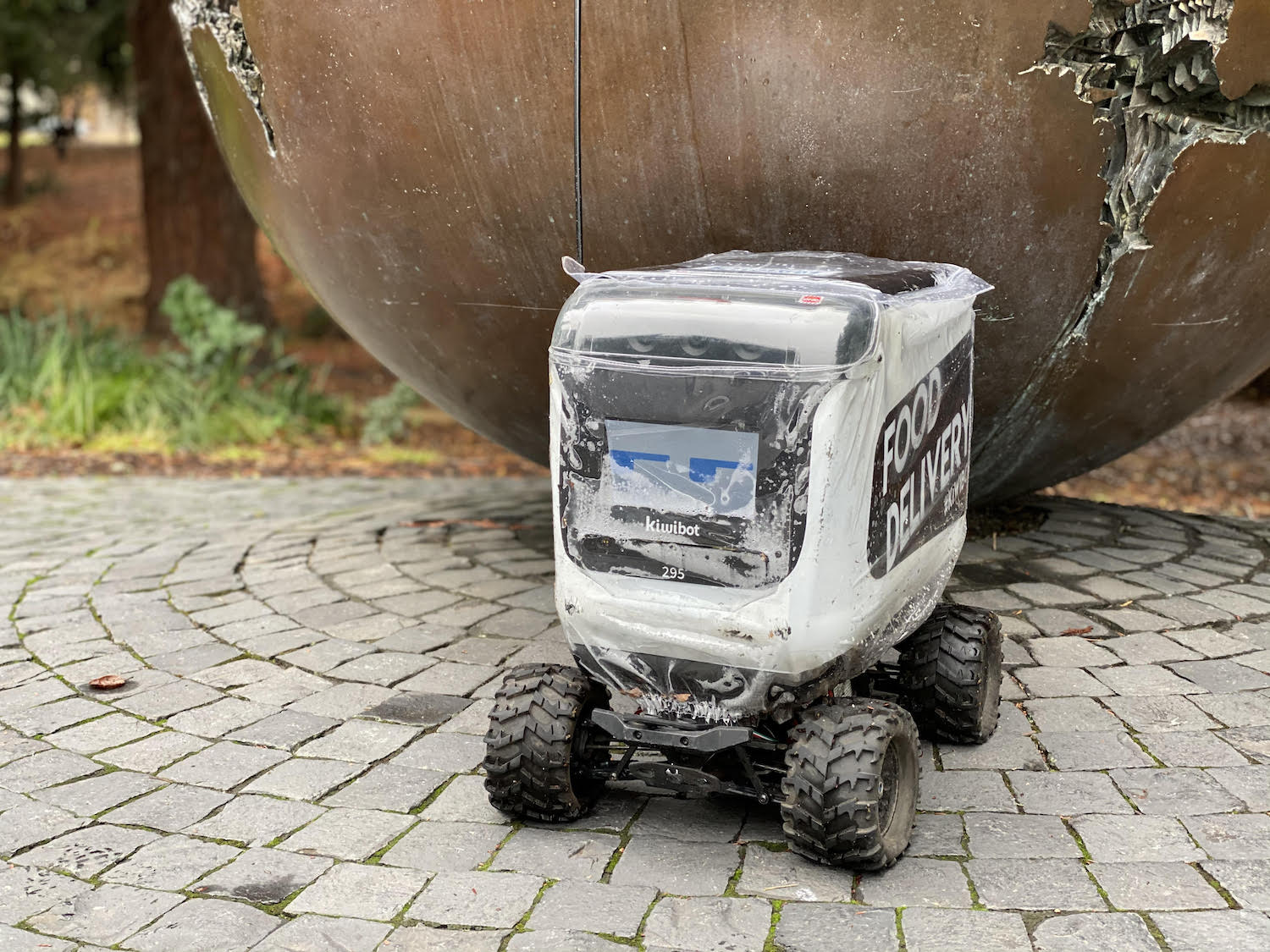 Kiwibot will discontinue delivery service starting Dec. 15.