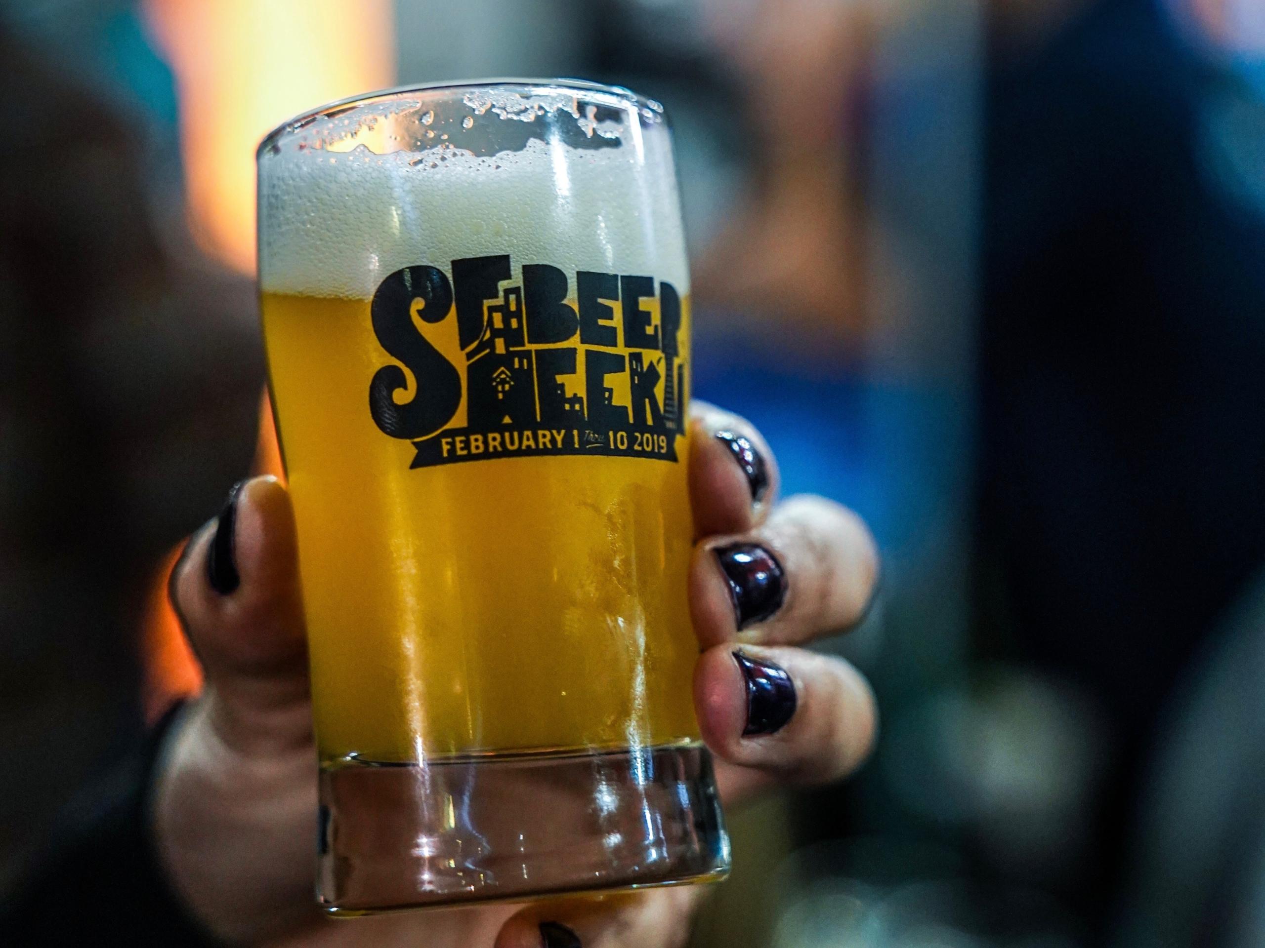 SF Beer Week. Photo: Carly Hackbarth