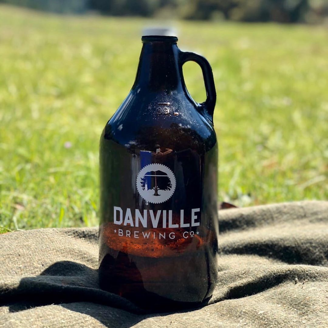 Danville Brewing Co. growler.