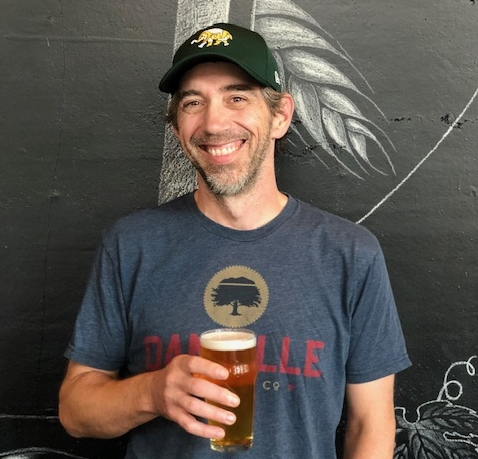 Matt Sager of Danville Brewing Company.