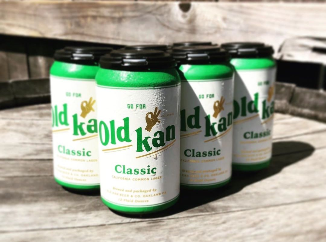 Old Kan's Classic California Common Lager.