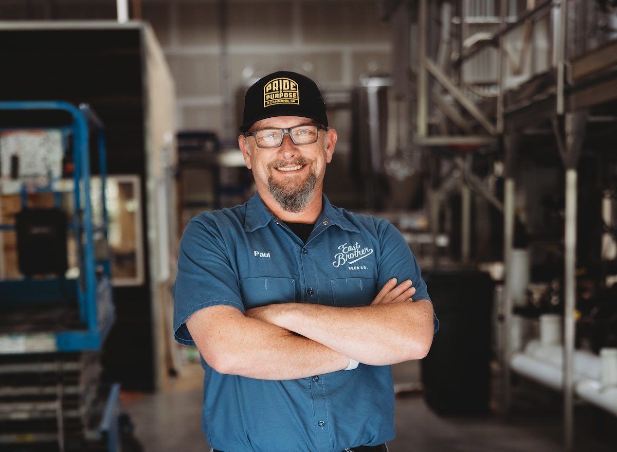 East Brother Beer brewer Paul Liszewski. Photo: Clara Rice Photography