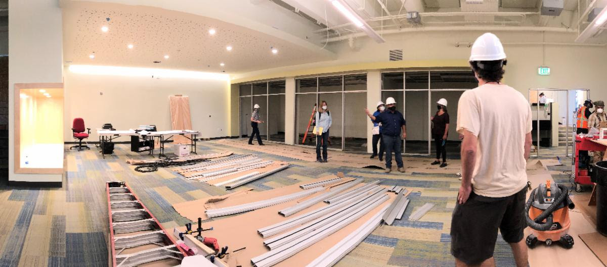 renovations underway at Oxford Elementary School