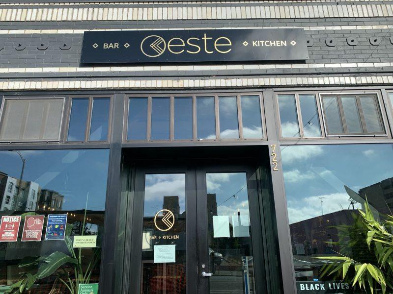 Oeste Bar & Cafe in Oakland. Photo: Ricky Rodas