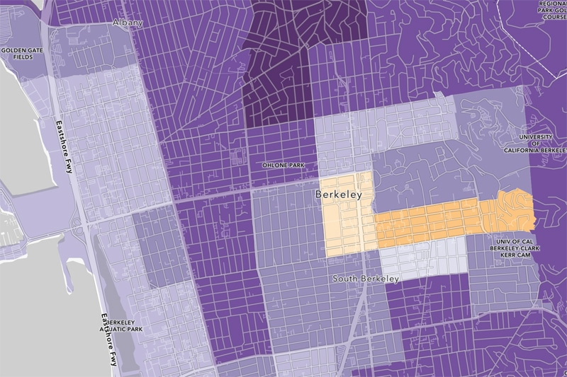 Berkeley census tracts